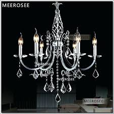 silver crystal chandelier small 6 arms wrought iron silver crystal chandeliers light modern hanging lighting with silver crystal chandelier
