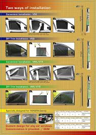 fits all kinds of car windows shapes 52cm 65cm 73 cm