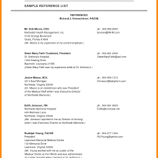 Reference Resume Format Resumermat With References Sample Stupendous Templates Template 17