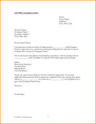 Thank You Letter For Job Offer Acceptedce Sample Resume Examples