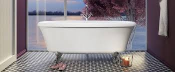 bainultra cella 6636 air jet clawfoot bathtubs
