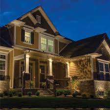 exterior accent lighting for home. volt landscape lighting starter kit 9 light hardwire exterior accent for home