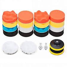 Car Foam Drill Polishing Pad Kit 22 PCS, 3 Inch ... - Amazon.com