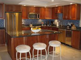 Open Kitchen Layout Kitchen Islands Furniture Inspiration Classy Rounded Backless