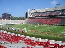 Uga Seating Chart Sanford Stadium Sanford Stadium View From Lower Level 127 Vivid Seats