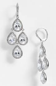 zirconia earrings nadri cubic zirconia chandelier earrings nordstrom exclusive at nordstrom