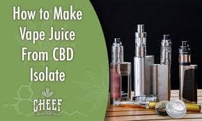 Vape Wild Diy Chart How To Make Vape Juice From Cbd Isolate Diy Guide Cheef
