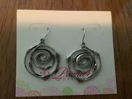 Premier Designs Inside Out Earrings Premier Designs Jewelry Silver Swirl Earrings Rv