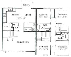 2 story simple floor plans with dimensions. Unique Simple Simple Floor Plans 4 Bedroom House 2 Story 3d For With Dimensions S