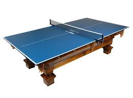 ping pong table top tiger conversion outdoor material