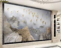 Goede Koop Beibehang Custom Foto Behang Muurschildering 3d Landschap