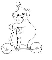 Small Picture Printable Teletubbies Coloring Pages Coloring Me