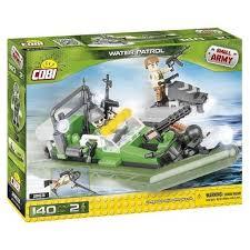 <b>Конструктор Cobi</b> Small Army 2163 <b>Патрульная лодка</b> - купить ...