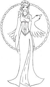 Aphrodite Manga Picture Of Aphrodite Coloring Page Coloring Pages