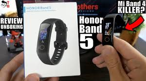 <b>Honor</b> Band 5 <b>Global Version</b> REVIEW & Unboxing & Setup - YouTube