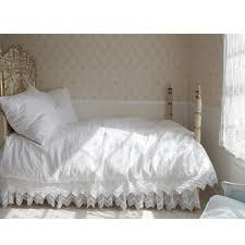 lace bedding shabby chic interiors