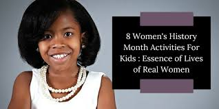 8 Womens History Month Activities For Kids