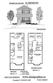 Duplex house plans  Duplex house and Two story houses on Pinterest
