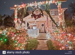 Christmas Lights Austin Tx Christmas Lights In The Austin Texas 37th Street District
