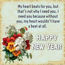Inspiring Quotes About Love Interesting Happy New Year 48 Quotes Happy New Year To Lover Wishes Quotes