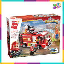 Bộ Đồ Chơi Xếp Hình Thông Minh Lego Qman 12012 - Xe Ô Tô Cứu Hỏa Thành Phố  Mẫu 370 Mảnh Ghép Cho Trẻ Từ 6 Tuổi tại Hà Nội