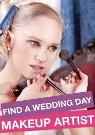 of all the days to skimp on makeup your wedding is not one of them