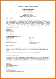 Chronological Resume For Canada Joblers Cv Format Example Image