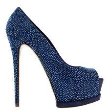 Blue Designer Heels Luxury Pumps And Designer Pumps For Sale Online By Mercedeh