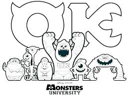Coloring Pages Monsters Inc Free Printable Coloring Pages Coloring
