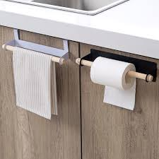 towel stand wood. Towel Racks Bathroom Free Perforated Creative Cabinet Stickers Wipes Iron Wood Storage Shelves Stand