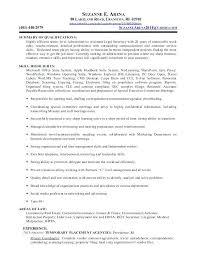 Legal Assistant Resume Objective Legal Secretary Resume Samples