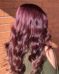 Light Raspberry Brown Hair Color On Haircuts