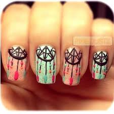 Dream Catcher Patterns Meanings Adorable 32 Cool Dream Catcher Nail Designs For Native American Fashion Hative