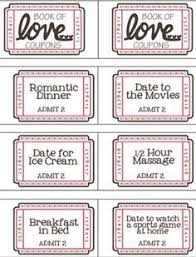 Printable Homemade Coupons Free Printable Valentine Coupon Booklet Valentine Ideas