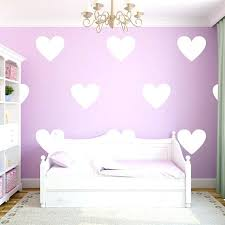 gold heart wall decal 8 large white decals for walls in a room above rose stickers