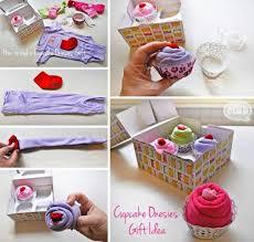 how to diy cute cupcake onesies baby gift