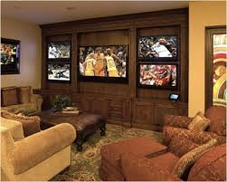 home office repin image sofa wall. repin if youu0027d like to have this many tvs in your entertainment room home office image sofa wall