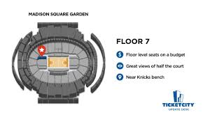 Madison Square Garden Seat Recommendations The Ticketcity Update Desk