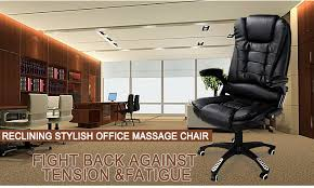 crazy office chairs. black pu leather office massage chair crazy chairs