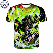 2019 <b>2019 Summer Animation Dragon</b> Ball T Shirts 3D T Shirt Men ...