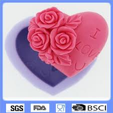 3d chocolate fondant mold cake hand molding love silicone mold i love u rose flower for