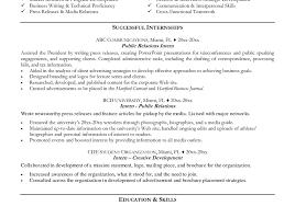 resume resume template summer internship resume examples adorable financial internship resume objective sample internship resume ezmon resume objective examples for internships