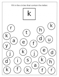 alphabet-letter-k-recognition-for-preschool - Preschool Crafts
