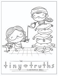 Can you spot the difference between these two story of jesus bible. Tiny Truths Coloring And Crafts Tiny Truths Illustrated Bible