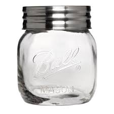ball super wide mouth half gallon 64 oz glass jar with lid