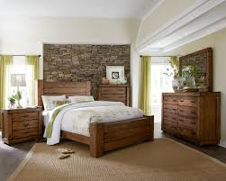 Progressive Bedroom Furniture Progressive Furniture Maverick Rustic Queen Panel Bed With