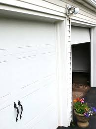 manually open garage door how to