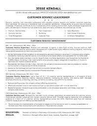 Resume Objective Examples Customer Service On Customer Service ...