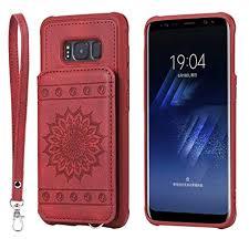 Galaxy S8 Case,DAMONDY <b>Luxury Flower Sunflower Wallet Purse</b> ...
