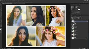 Adobe Photo Collage Templates 2018 Photo Collage And